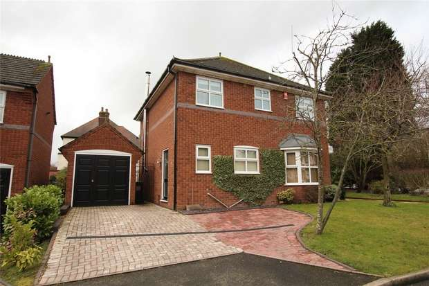 4 Bedrooms Detached House for sale in Victoria Gardens, Lichfield, Staffordshire
