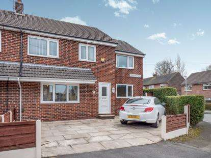 4 Bedrooms Semi Detached House for sale in Stamford Close, Stalybridge, Cheshire, United Kingdom