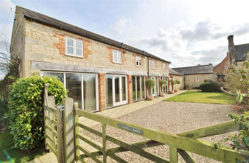 3 Bedrooms Barn Conversion Character Property for sale in Laurels Barn, West Street, Osbournby, Sleaford