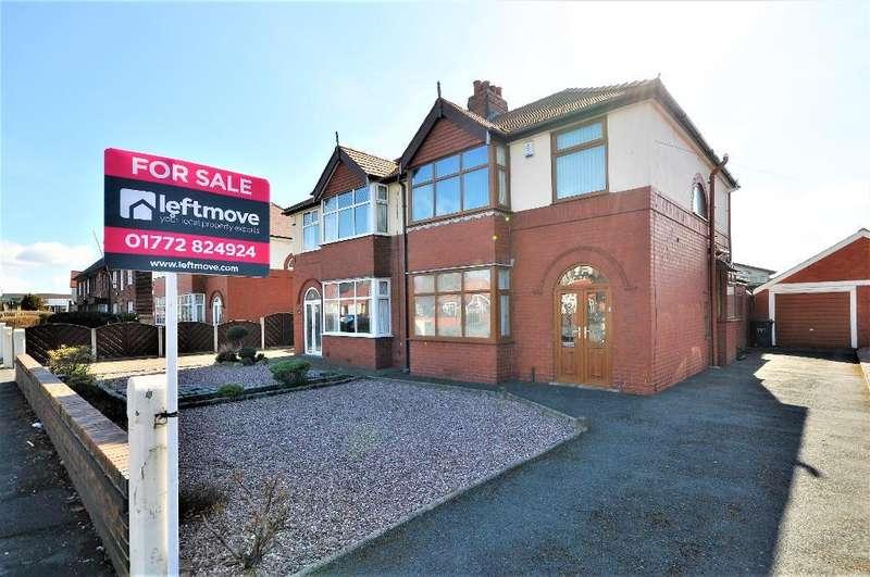 3 Bedrooms Semi Detached House for sale in Blackpool Road, Lea, Preston, Lancashire, PR2 1QQ