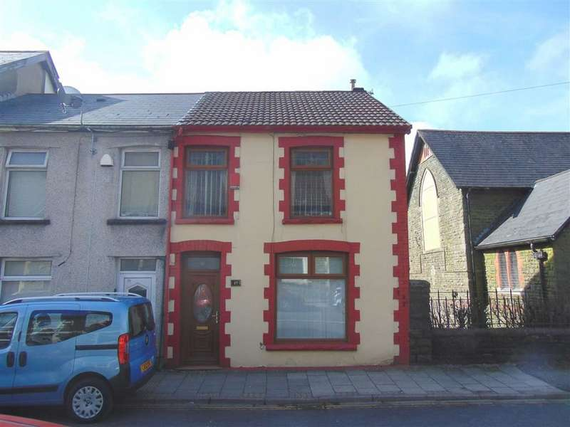 3 Bedrooms Semi Detached House for sale in Clydach Road, Tonypandy