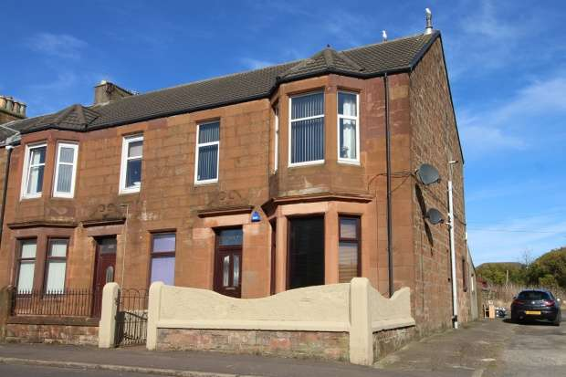 2 Bedrooms Flat for sale in Gladstone Road, Saltcoats, Ayrshire, KA21 5LD