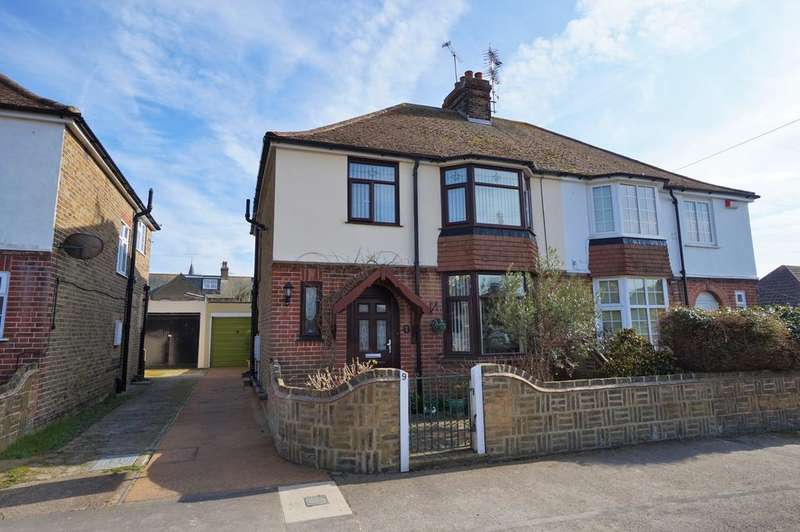 3 Bedrooms Semi Detached House for sale in Eastfield Road, Birchington CT7