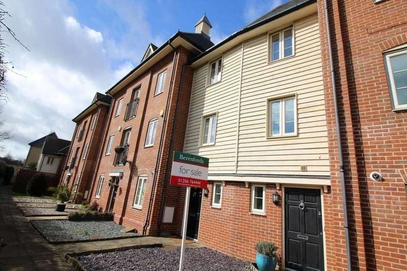 4 Bedrooms Town House for sale in Riverside Place, Colchester, Essex, CO1