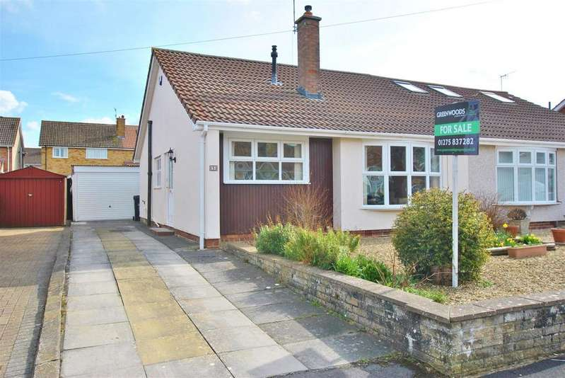 2 Bedrooms Semi Detached Bungalow for sale in Greenacre Road, Whitchurch