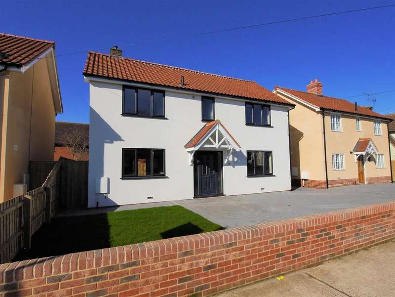 4 Bedrooms Detached House for sale in 1C Bradfield Avenue, Hadleigh, Ipswich, Suffolk, IP7 5ES