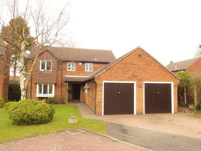 4 Bedrooms Detached House for sale in Pavillion Close, Aldridge