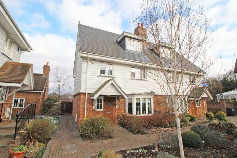 4 Bedrooms Semi Detached House for sale in Chaplin Court, Sutton At Hone, Dartford, DA4