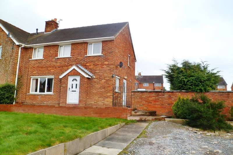 3 Bedrooms Semi Detached House for sale in Bryn Yr Onnen, Southsea, Wrexham, LL11