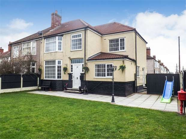 5 Bedrooms Semi Detached House for sale in Little Crosby Road, Great Crosby, Liverpool, Merseyside