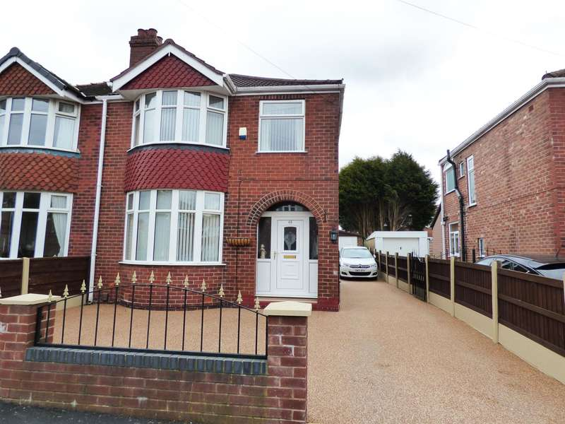3 Bedrooms Semi Detached House for sale in Ludlow Road, Offerton, Stockport, SK2