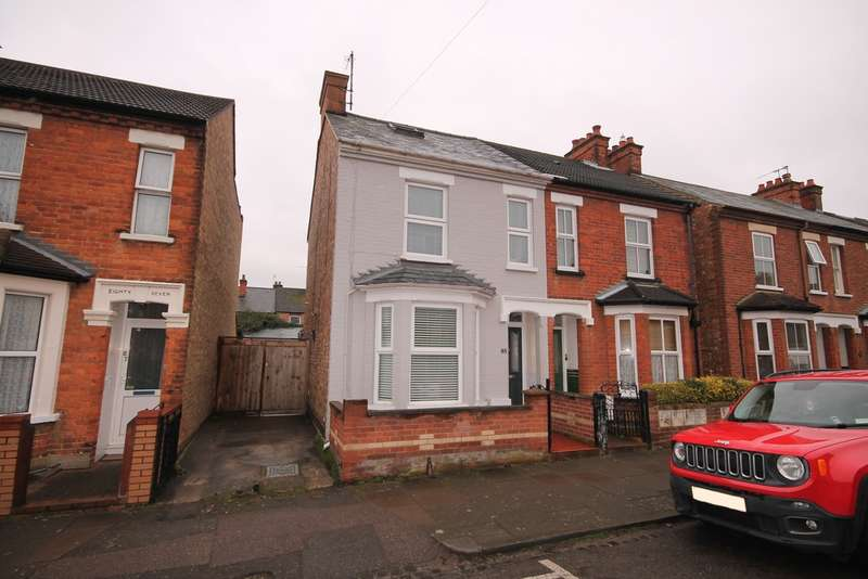 4 Bedrooms Semi Detached House for sale in Dudley Street, Bedford, MK40