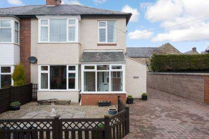 3 Bedrooms Semi Detached House for sale in Grange Avenue, Stamfordham, Northumberland, Tyne Wear, NE18