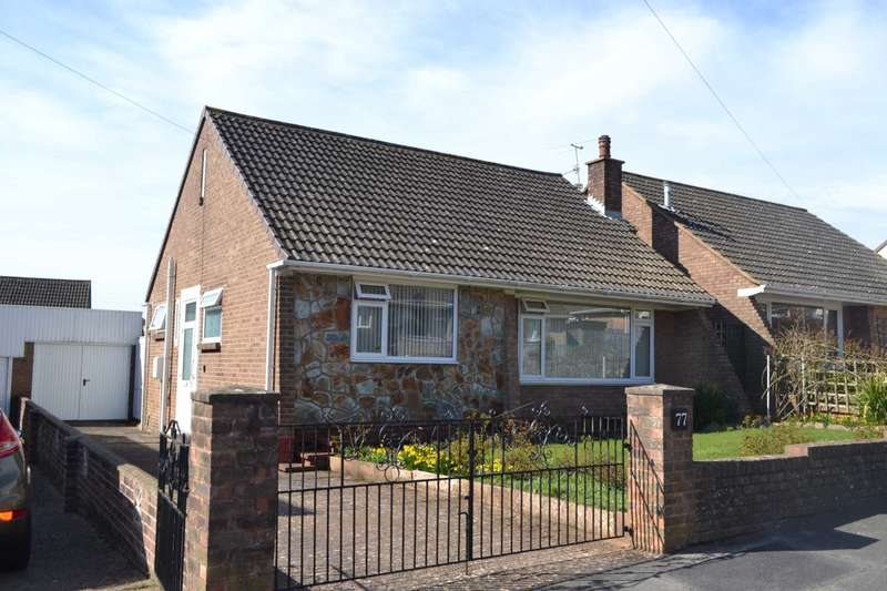2 Bedrooms Detached Bungalow for sale in Scott Drive, Exmouth