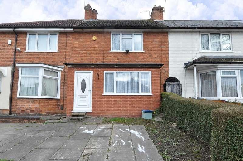 2 Bedrooms Terraced House for sale in Derwent Road, Birmingham, B30