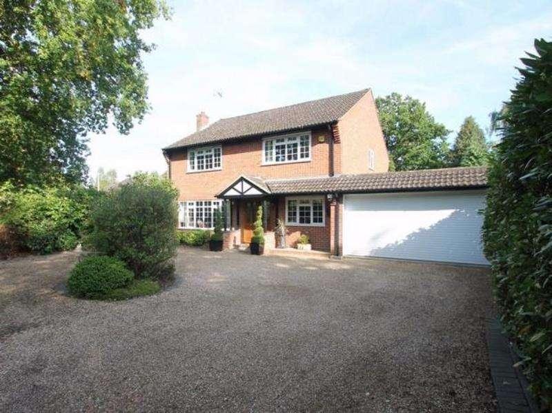4 Bedrooms Detached House for rent in Belton Road, Camberley, Surrey
