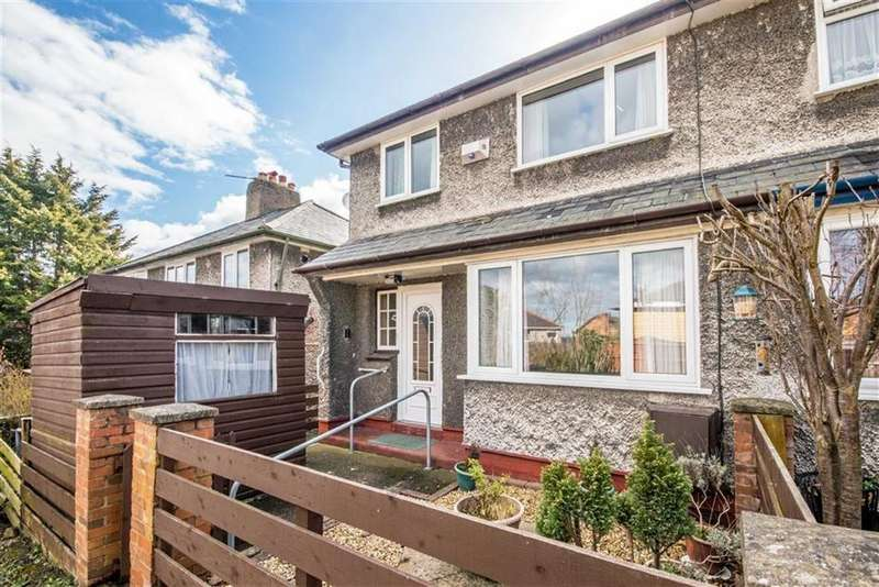 3 Bedrooms Semi Detached House for sale in Bryn Dedwydd, Denbigh