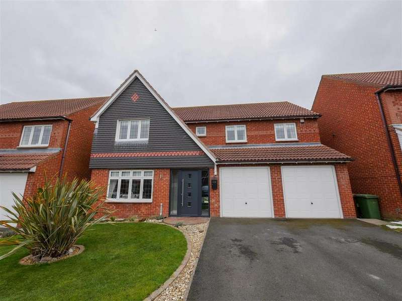 4 Bedrooms Detached House for sale in Aylesford Mews, Ashbrooke, Sunderland