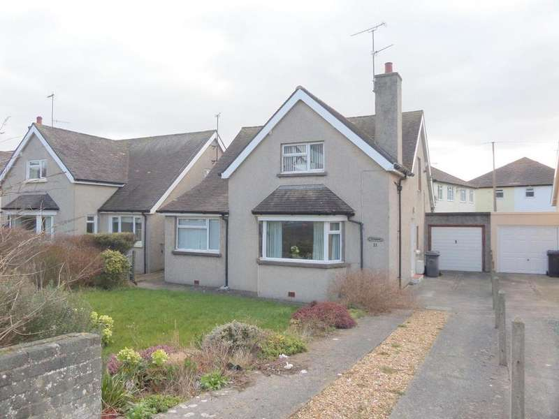 3 Bedrooms Link Detached House for sale in Morfa Road, West Shore, Llandudno