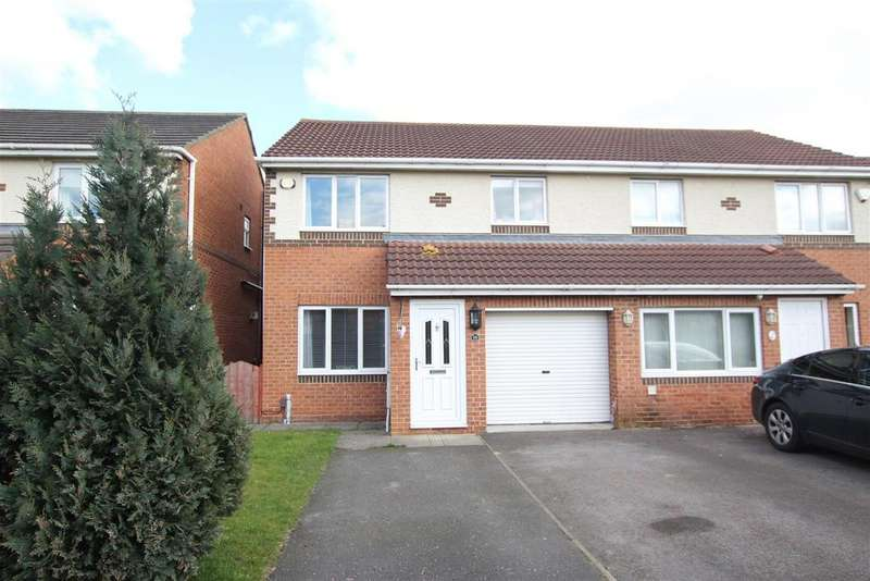 3 Bedrooms Semi Detached House for sale in Elmcroft, Darlington