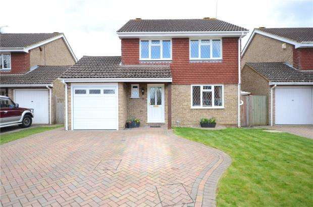 4 Bedrooms Detached House for sale in Hambledon Close, Lower Earley, Reading