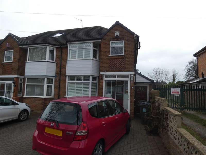 3 Bedrooms Semi Detached House for sale in Sunnymead Road, Yardley, Birmingham