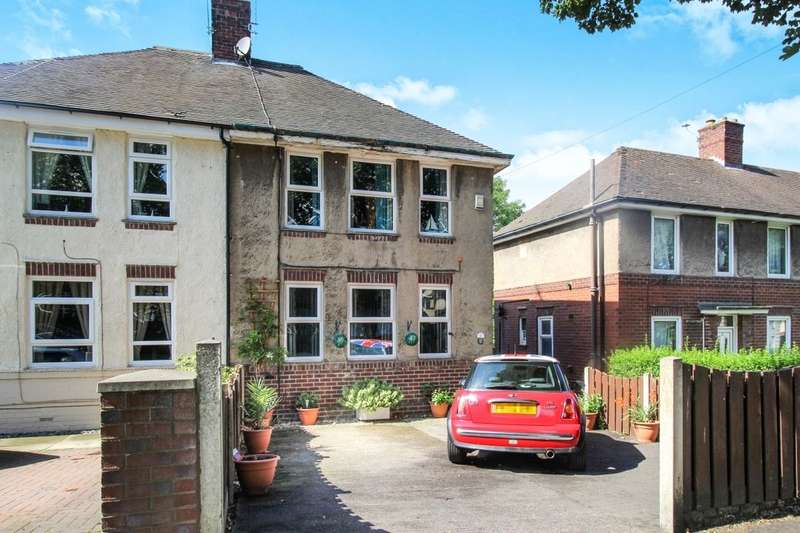 3 Bedrooms Semi Detached House for sale in Molineaux Road, Sheffield, S5