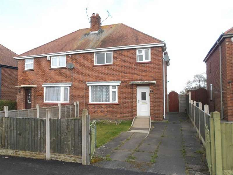 3 Bedrooms Semi Detached House for sale in Christleton Avenue, Crewe, Cheshire