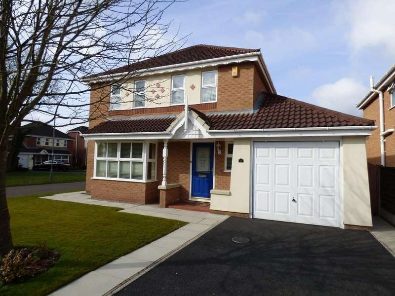 4 Bedrooms Detached House for sale in Meadows Reach, Penwortham, Preston
