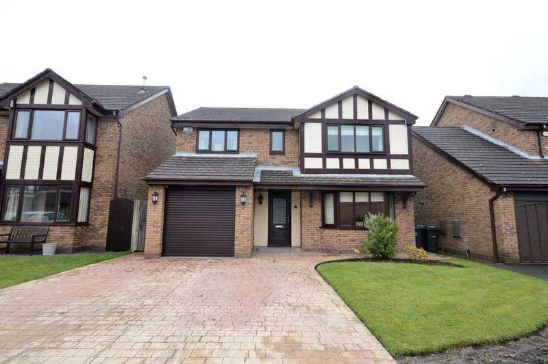 4 Bedrooms Detached House for sale in Amberleigh Close, Appleton Thorn, Warrington