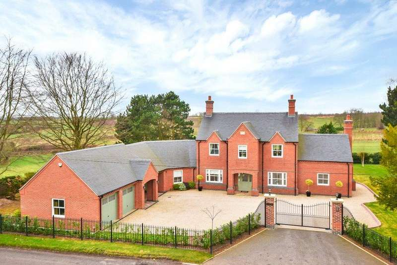 4 Bedrooms Detached House for sale in Netherseal, Swadlincote, Derbyshire