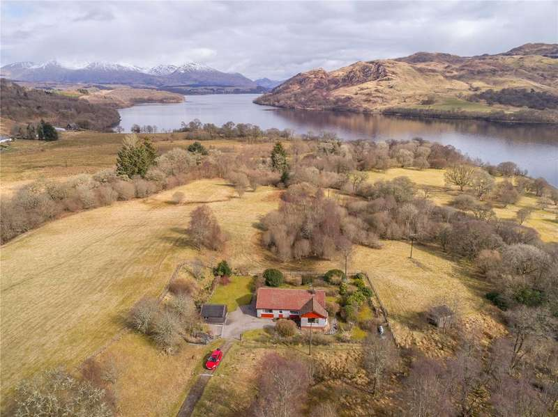 3 Bedrooms Detached House for sale in Achnambroc, Inverinan, Taynuilt, Argyll and Bute, PA35