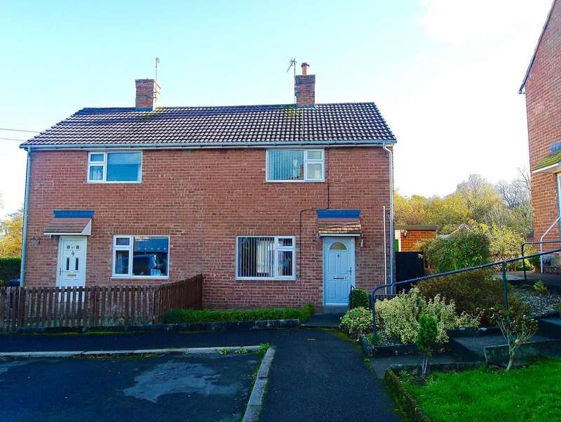 2 Bedrooms Semi Detached House for sale in Priestlands Close, Hexham