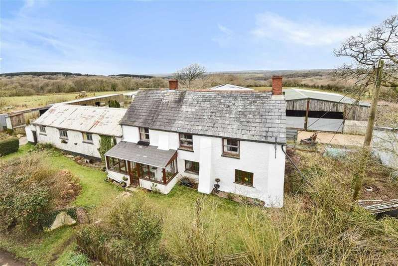 3 Bedrooms Detached House for sale in Ashwater, Beaworthy, Devon, EX21