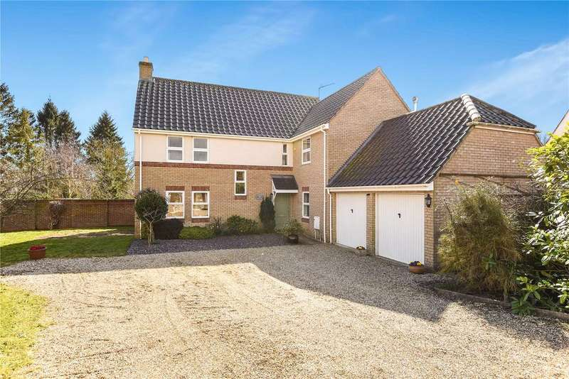 4 Bedrooms Detached House for sale in Cricket Meadow, Stradishall, Newmarket, Suffolk, CB8