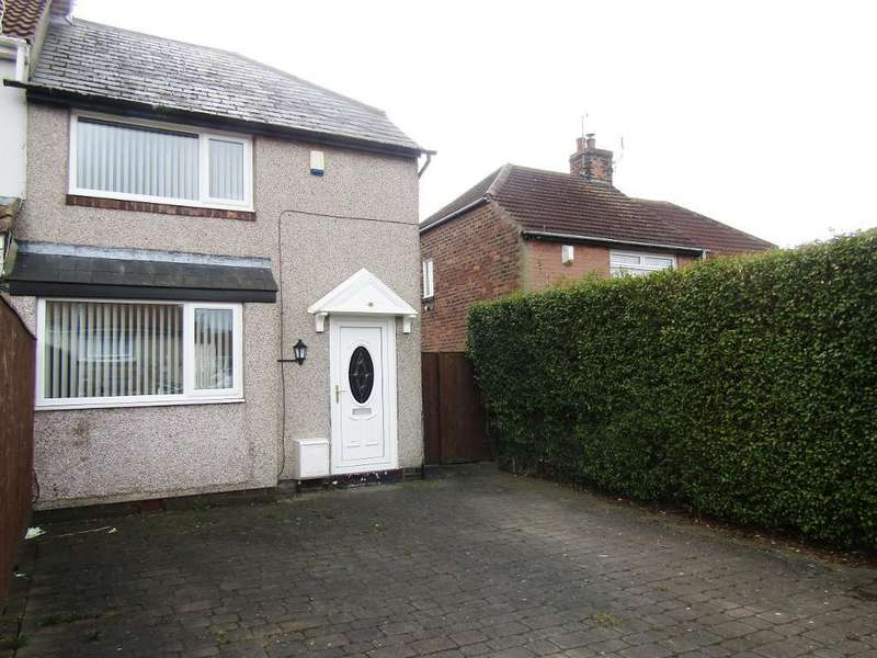 2 Bedrooms Semi Detached House for sale in Meldon Gardens, Lobley Hill, Gateshead, Tyne Wear, NE11 0BB