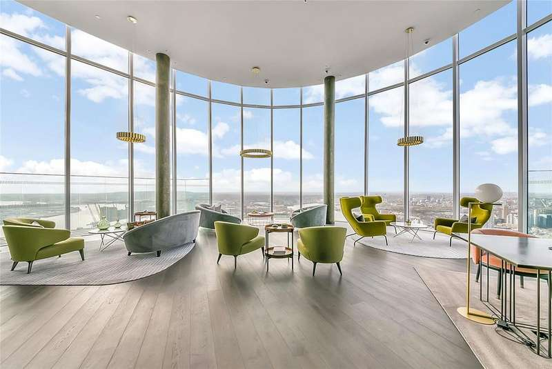 3 Bedrooms Apartment Flat for sale in Charrington Tower, 11 Biscayne Avenue, E14