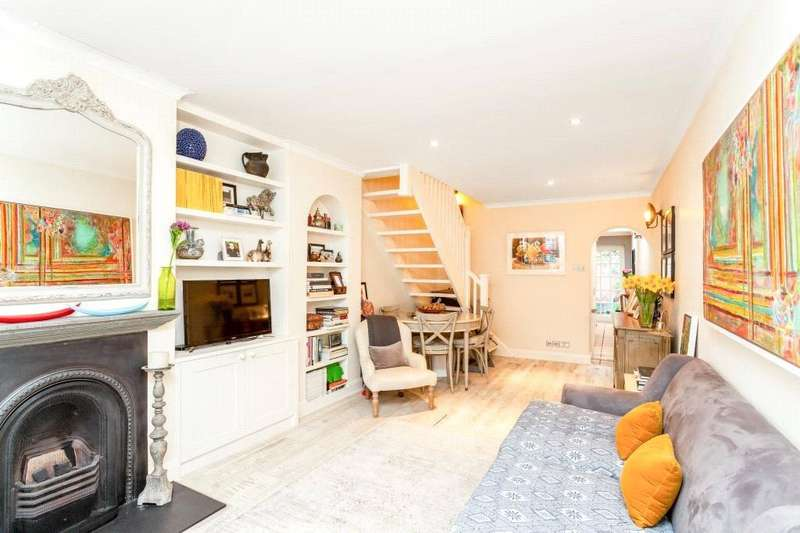 2 Bedrooms Terraced House for sale in Hyde Road, Richmond, Surrey, TW10