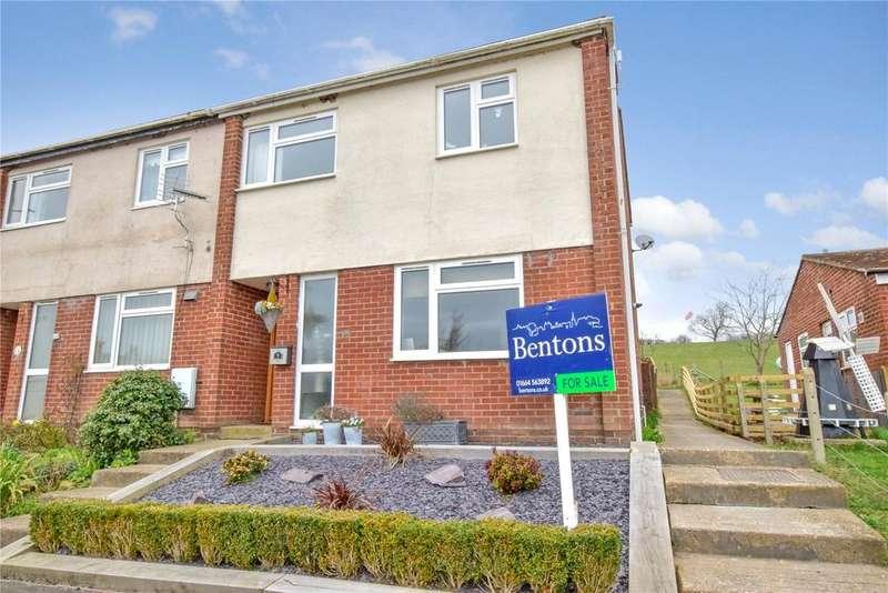 3 Bedrooms End Of Terrace House for sale in Sulney Close, Upper Broughton, Melton Mowbray