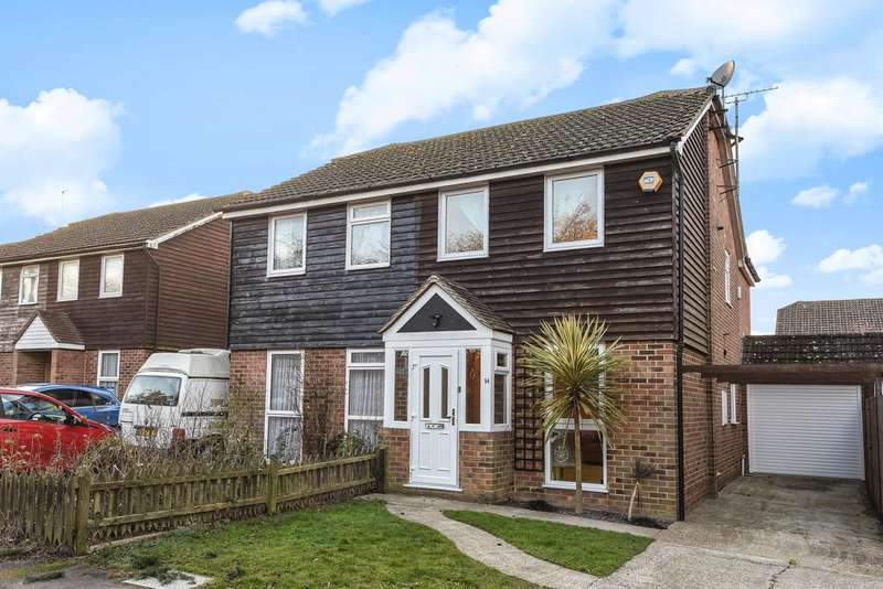3 Bedrooms Semi Detached House for sale in Coxheath, Maidstone