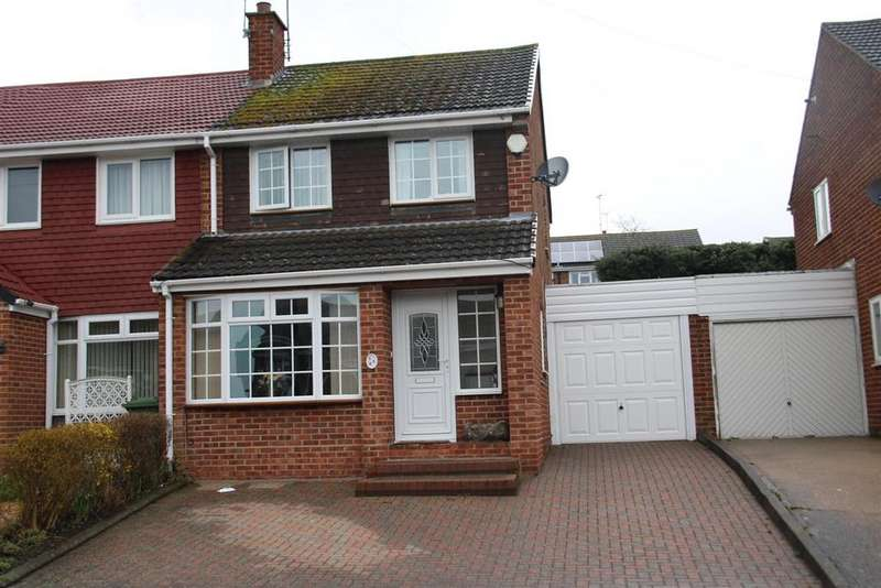 3 Bedrooms Semi Detached House for sale in Chaytor Road, Polesworth, Tamworth