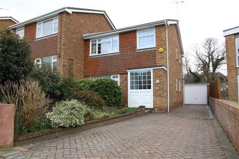 3 Bedrooms Semi Detached House for sale in Sedlescombe Gardens, St Leonards On Sea