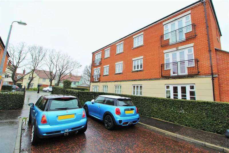 2 Bedrooms Apartment Flat for sale in Springham Drive, Myland, Colchester