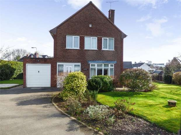 3 Bedrooms Detached House for sale in Sunnyside Road, Uttoxeter, Staffordshire