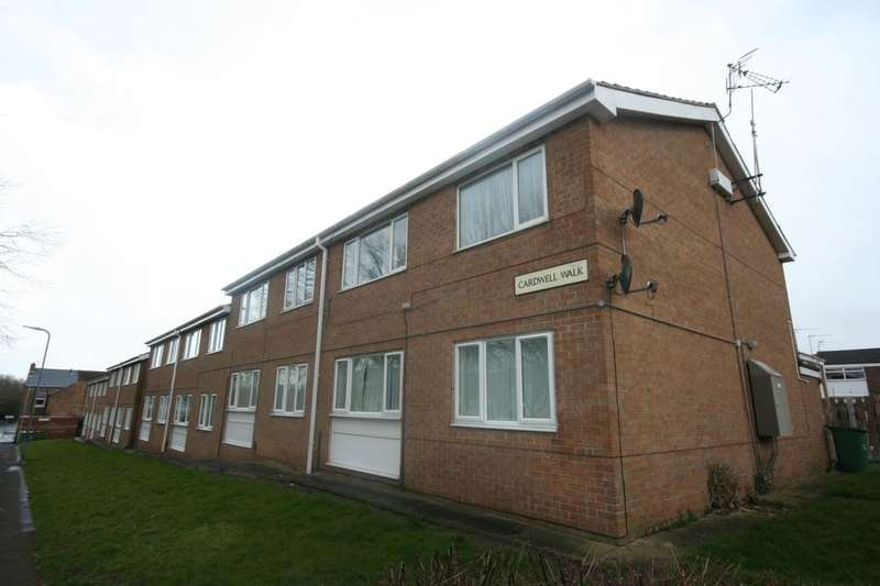1 Bedroom Flat for sale in Cardwell Walk, Thornaby, Stockton-On-Tees, TS17