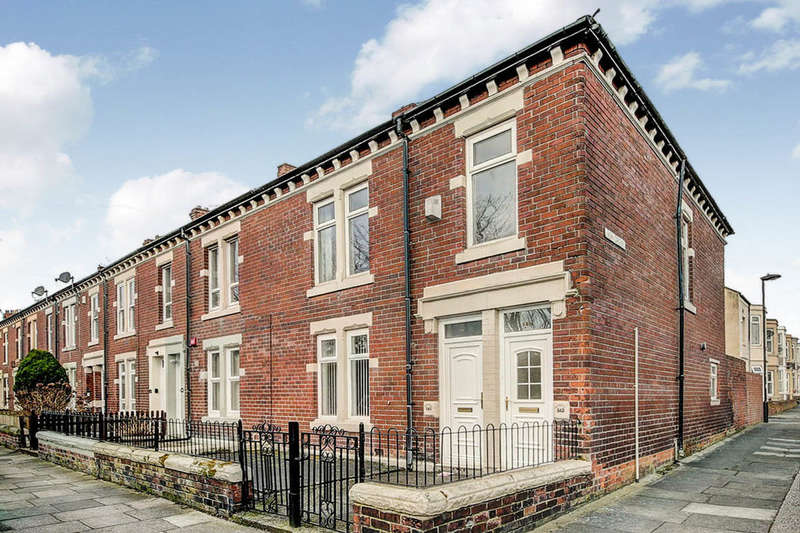 2 Bedrooms Flat for sale in Holly Avenue, Wallsend, NE28