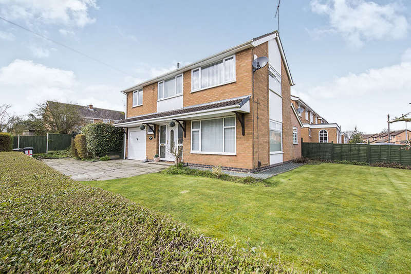 3 Bedrooms Detached House for sale in Alice Close, Bedworth, CV12