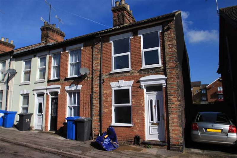 2 Bedrooms End Of Terrace House for sale in Croft Street, Ipswich