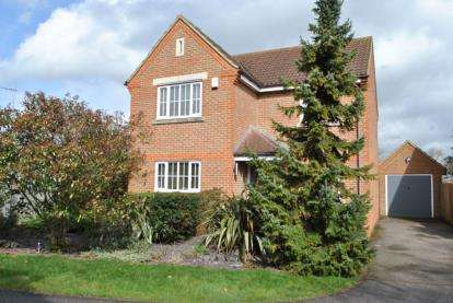 4 Bedrooms Detached House for sale in Pound Close, Biggleswade, Bedfordshire