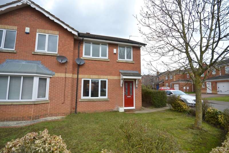 3 Bedrooms Semi Detached House for rent in Cross Waters Close, Wootton, Northampton, NN4
